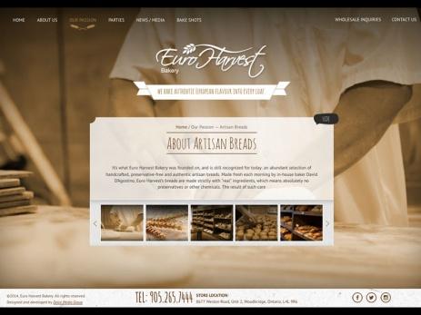 euro harvest bakery artisan bread