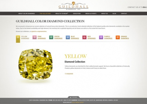 guildhall diamonds the collection