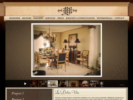 Web design Toronto — MK Interior Designs