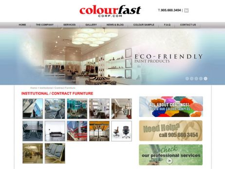Colourfast Corporate gallery page