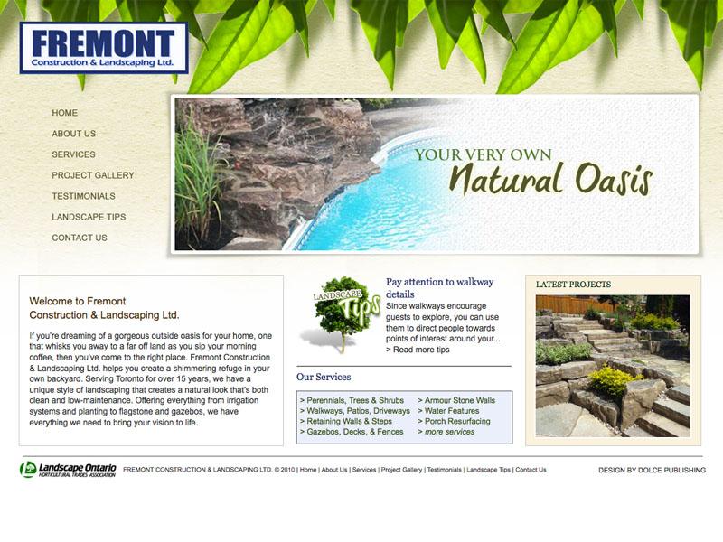 Fremont construction landscaping ltd for Create landscaping ltd