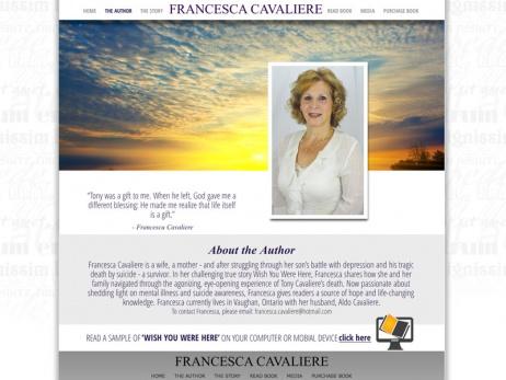 Francesca Cavaliere - Author Page