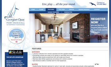 Port McNicoll Waterfront Townhomes