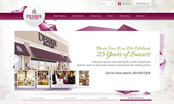 Desiree Homepage cover