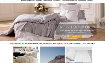 davids-fine-linens-web-site-design-1