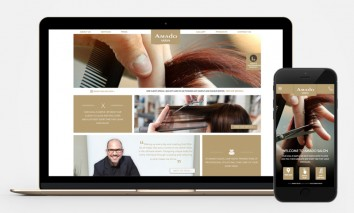 Amado-hair-Salon-Web-mobile-design-1