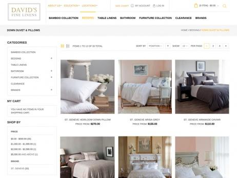 davids-fine-linens-web-site-design-2