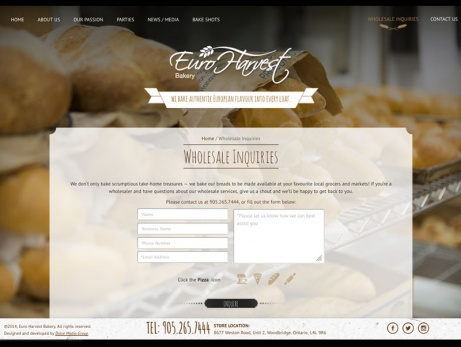 euro harvest bakery wholesale