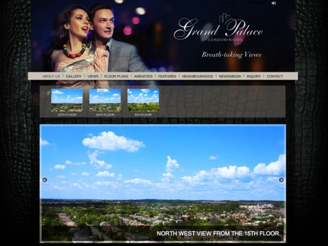 Grand Palace Condominiums - Views Page