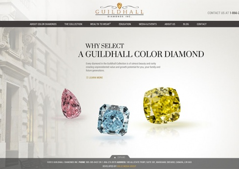 guildhall diamonds homepage