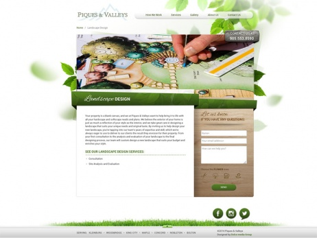 piques and valleys landscape design gallery
