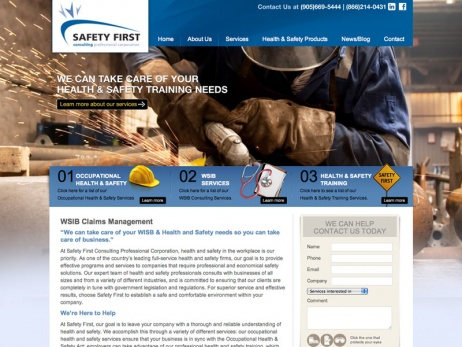 Safety First Consulting Services  - Home Page