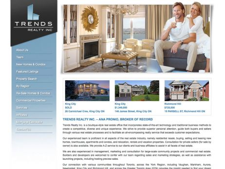 Trends Realty Inc