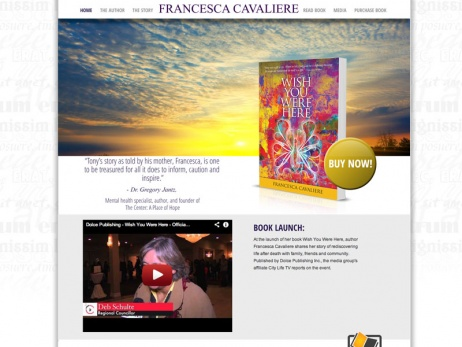 Francesca Cavaliere - Home Page