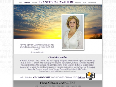 Francesca Cavaliere - Author Page